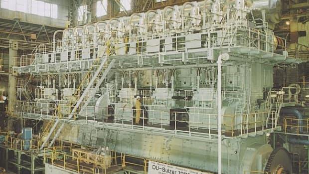 Wrtsil-Sulzer RTA96, the worlds biggest engine