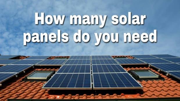 how-many-solar-panels-do-i-need