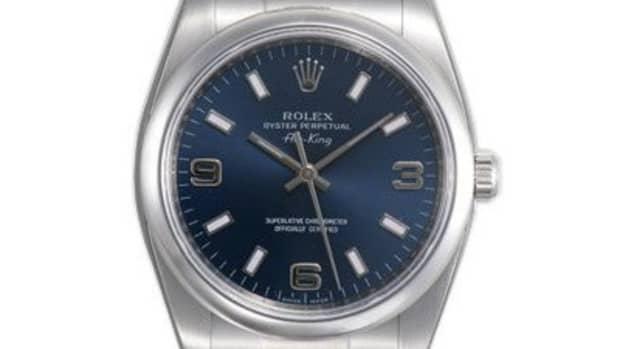 A beautiful Rolex watch.