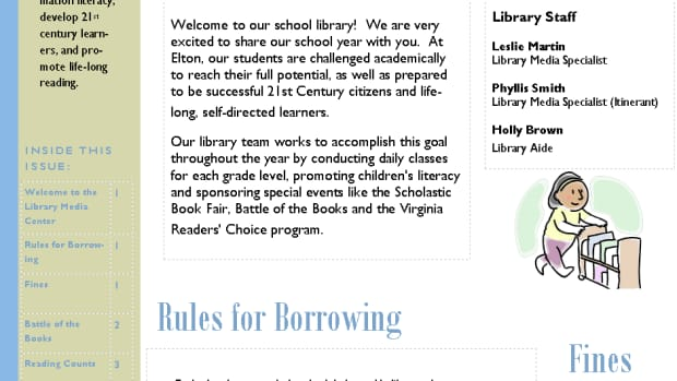 creating-a-library-newsletter