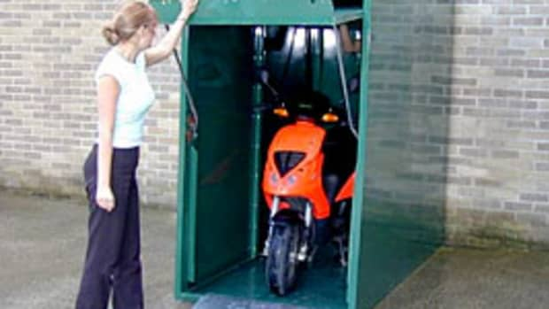 motorcycle--storage