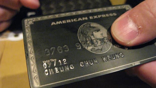 American Express Centurion, a.k.a. The Black Card. Courtesy of flickr.com