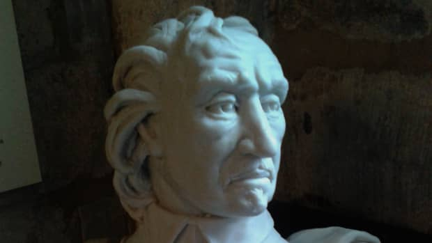 Oliver Cromwell Bust