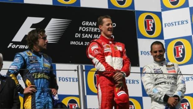 2006年圣马力诺大奖赛迈克尔·舒马赫职业生涯第85场胜利