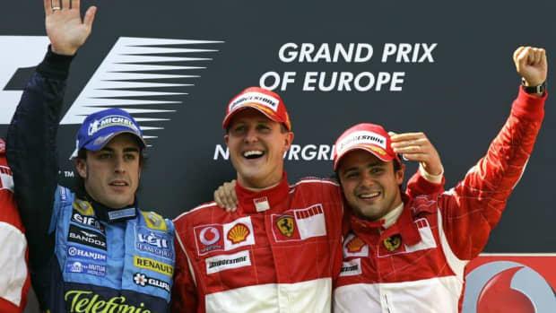 2006年欧洲大奖赛迈克尔·舒马赫第86次职业生涯胜利
