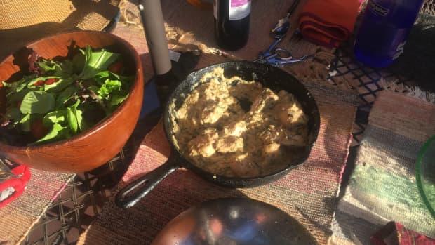 fried-chicken-in-a-walnut-garlic-sauce-recipe