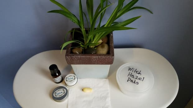 homemade-hemorrhoidal-suppositories-oil-salve-and-witch-hazel-wipes