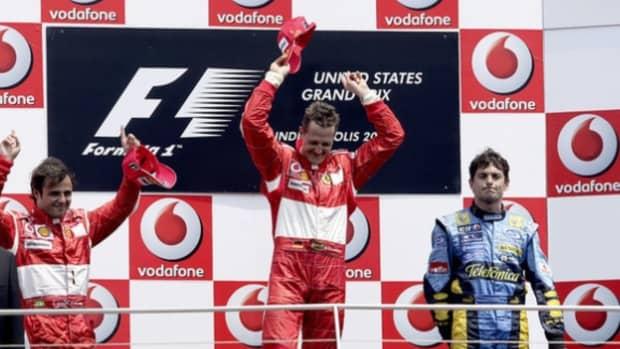 2006年美国大奖赛迈克尔·舒马赫职业生涯第87场胜利