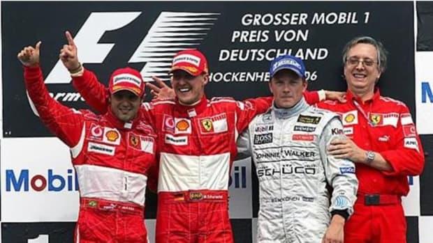2006年德国gp迈克尔舒马赫第89次职业生涯胜利