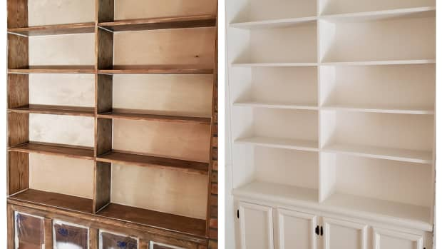 tips-for-spray-painting-bookshelves
