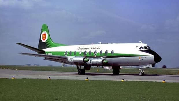 Guernsey Airlines Vickers Viscount
