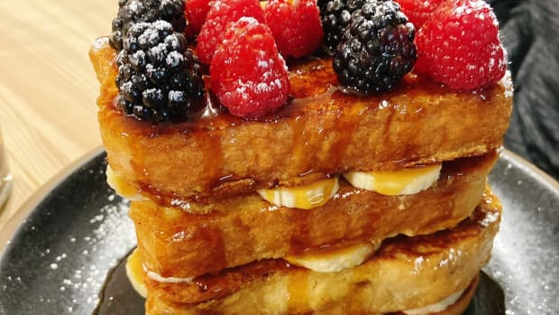 how-i-made-french-toast-for-my-husbands-birthday-cake