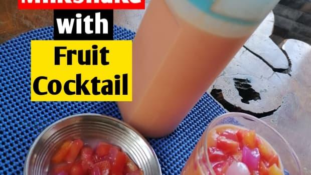 papaya-milkshake-with-fruit-cocktail