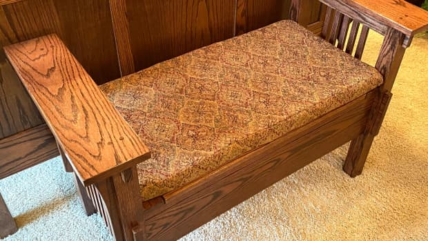 how-to-make-a-cushion-for-a-wooden-bench-using-upholstery-fabric-and-poly-foam