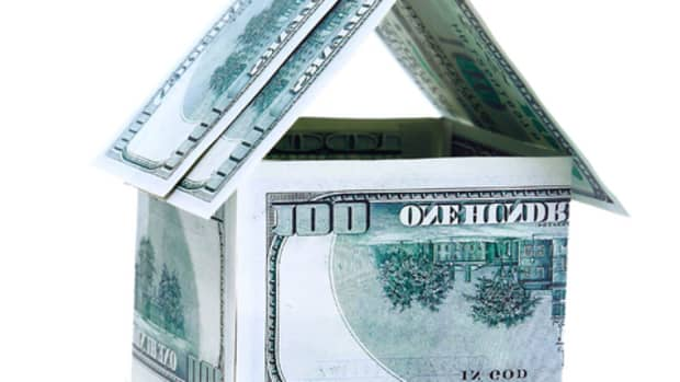 house made from hundred dollar bills
