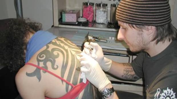 Deciding on the size and placement of your tattoo ahead of time makes the process easier