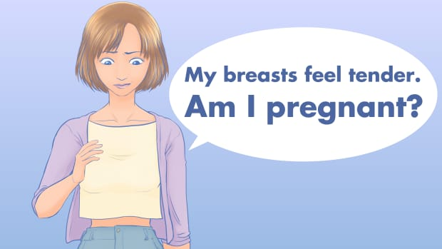 breast-tenderness-the-earliest-sign-of-pregnancy