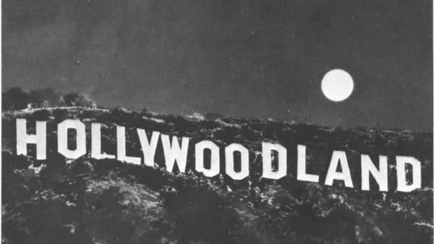 The Original Hollywoodland Sign