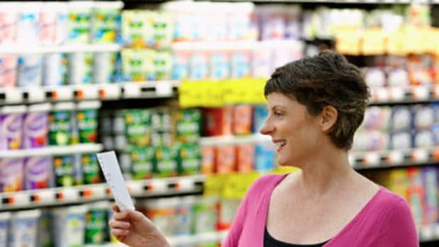 Taking a shopping list to the grocery store will save you time and money.