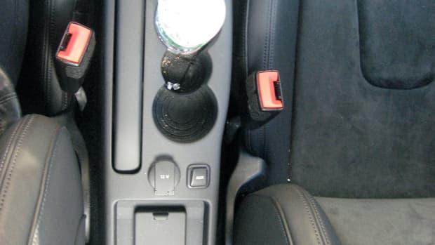 2008 Audi TT Interior- between the seats