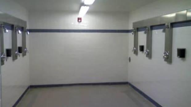 Typical Men's Locker Room Shower