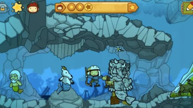 scribblenauts-unlimited-walkthrough-lost-kingdom-of-parentheses-and-abian-sea-front