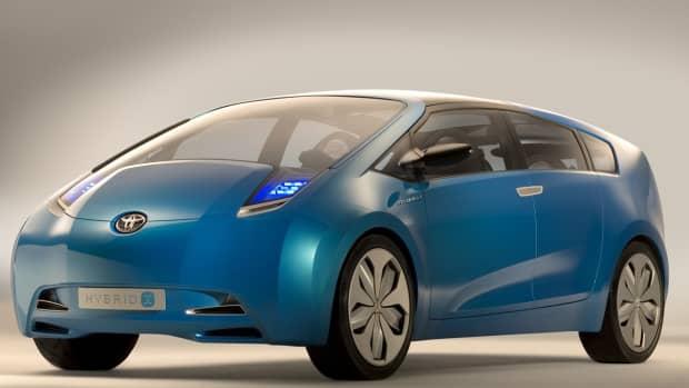 2010 Toyota Hybrid Concept Car