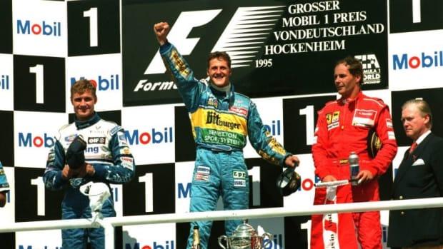 1995年德国大奖赛迈克尔·舒马赫第15次职业生涯胜利
