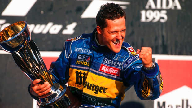 - 1995 -太平洋- gp -迈克尔-舒马赫- 18 -职业-赢