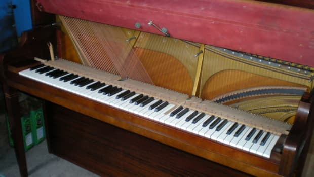 So you found a nice piano, but it has some broken keys..!