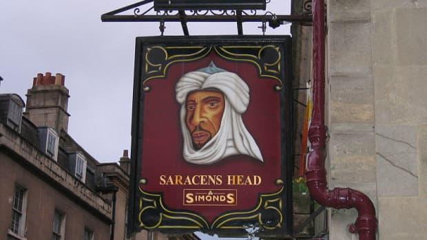The Saracen's Head - Pub Sign