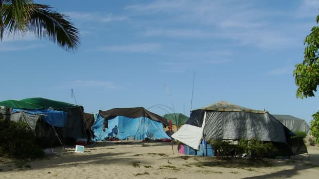 Tent City in Paradise