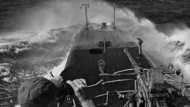The USS Batfish: On Lookout