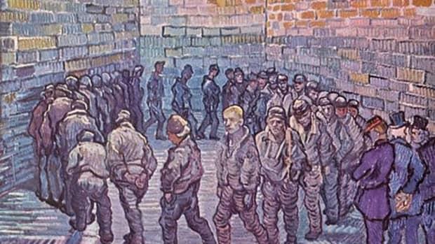 Prisoners Exercising by Vincent Van Gogh