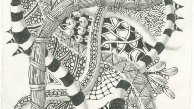 Learn to draw a Zentangle