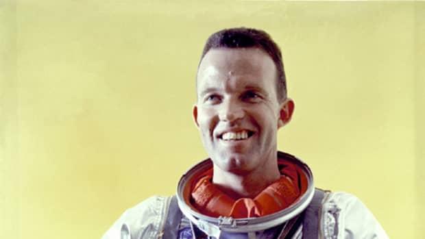 Mercury Astronaut Gordon Cooper. Photo courtesy of NASA.