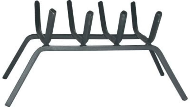 Uniflame Steel Fireplace Bar Grate
