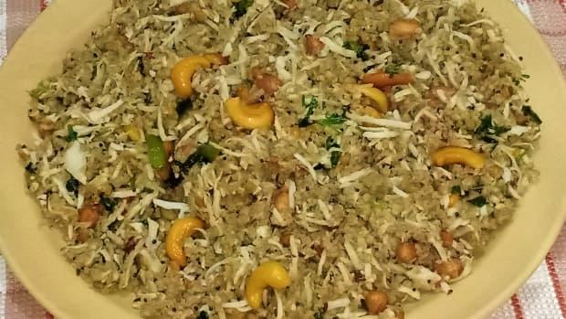 millet-coconut-rice-recipe