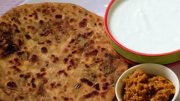 mooli-ke-patton-ka-paratha-stuffed-radish-leaves-paratha