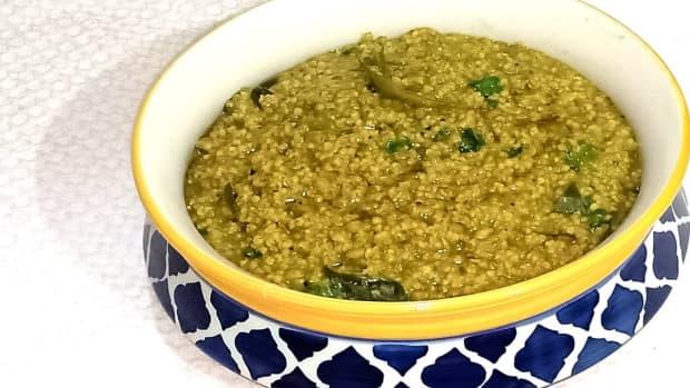 kodo-millet-khara-pongal-recipe