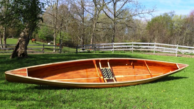 building-the-merlin-solo-canoe-from-northwest-canoes