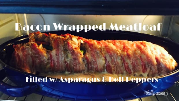 bacon-wrapped-meatloaf-with-asparagus-and-bell-peppers