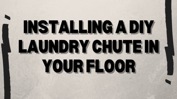 how-to-install-a-laundry-in-the-floor