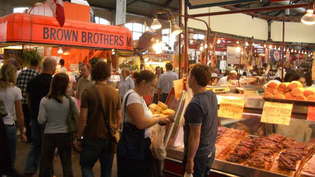 St. Lawrence Market in Toronto, Canada.