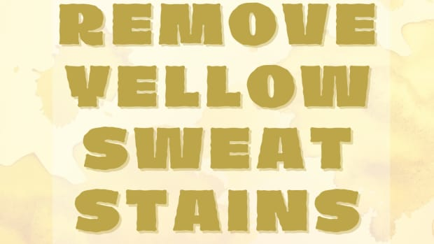 how-to-remove-yellow-sweat-stains