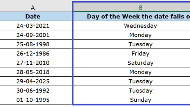 how-to-convert-dates-to-days-of-the-week-in-excel