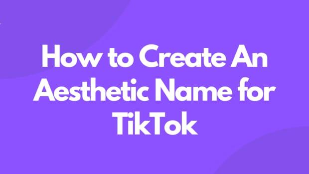 aesthetic-names-for-tiktok