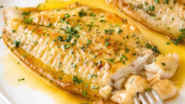 delicious-fried-fish-with-butter-sauce