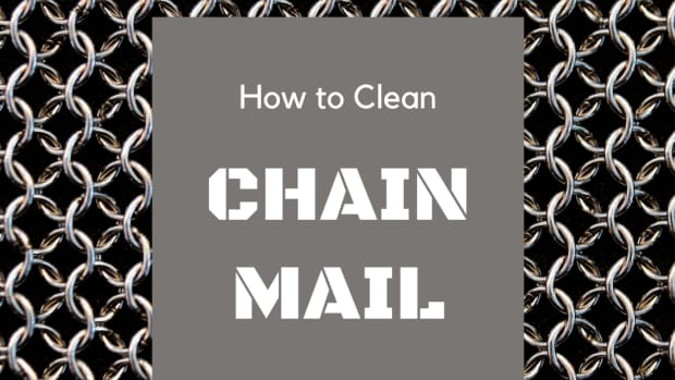 how-to-clean-stainless-steel-chain-mail