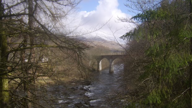 The River Dochart, Viewed from the Clan MacNab Burial Grounds, Killin